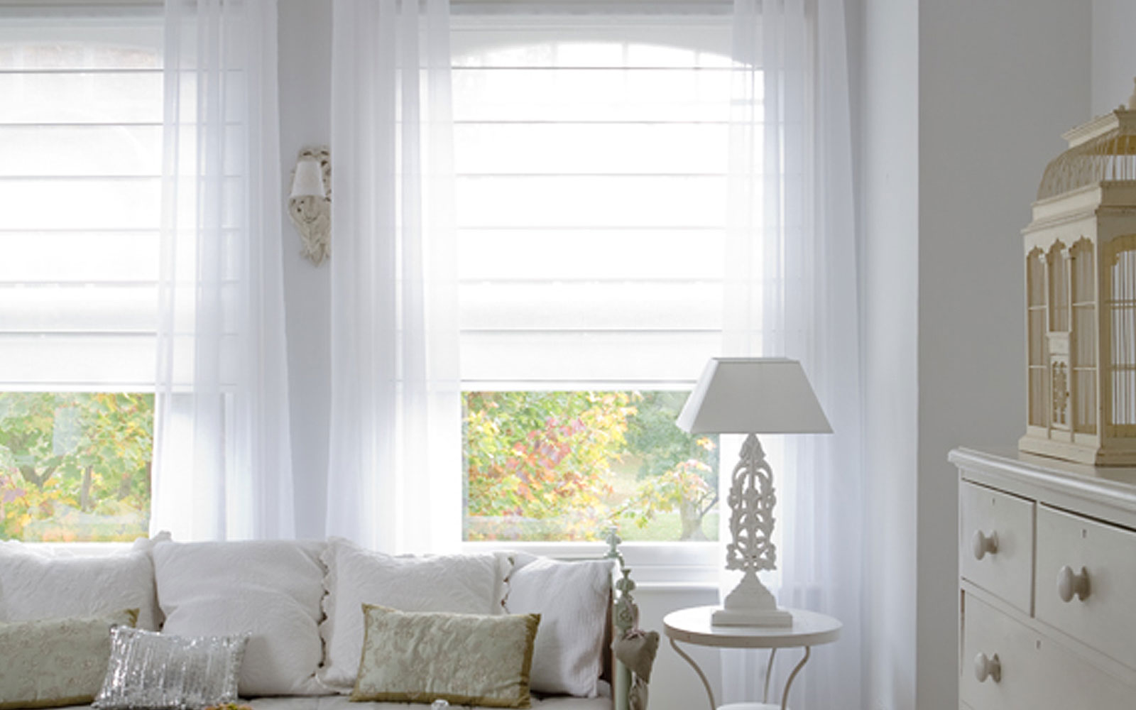 Add value to window furnishings with bcb blinds awnings for Window voiles