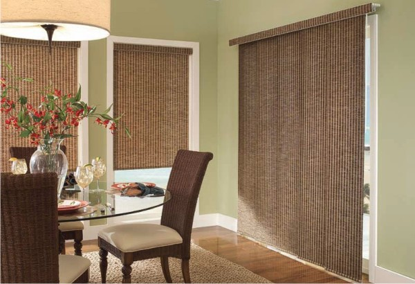 Add value to window furnishings with bcb blinds awnings for Panel tracks for patio doors